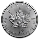 2016 1 oz Silver Maple Leafs