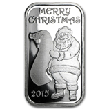 Holiday-Themed Silver Bars