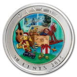 Holiday-Themed Silver Coins