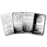 10 oz Silver Bar Flash Sale