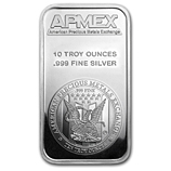 All APMEX Silver Bars
