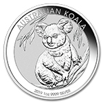 Perth Mint Silver Koalas