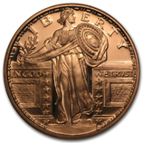 Copper Bullion Replicas