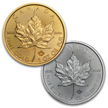 2016 Gold & Silver Maple Leafs