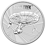 Perth Mint Silver Star Trek Coins