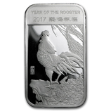 APMEX 2017 Year of the Rooster Silver Bars & Rounds