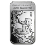 APMEX 2016 Year of the Monkey Silver Bars & Rounds