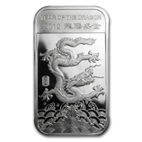 APMEX 2012 Year of the Dragon Silver Bars & Rounds