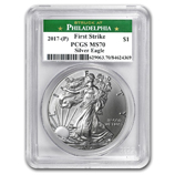 2017 (P) PCGS First Strike Silver Eagles