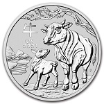 2017 Perth Mint Silver Lunar Year of the Rooster