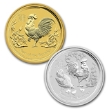 2017 Perth Mint Lunar Year of the Rooster Series