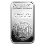 Select 10 oz Silver Bars