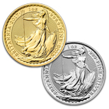 2017 Gold and Silver Britannias