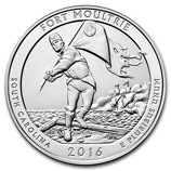 2016 5 oz Silver ATB Fort Moultrie, SC