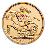 2017 Gold Sovereigns