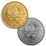 2017 Gold and Silver Maple Leafs