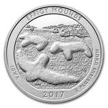2017 5 oz Silver ATB - Effigy Mounds