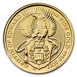 2017 Gold Queen's Beasts Griffin Coins