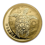 2017 Gold Turtle Coins