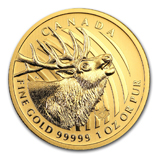 1 oz Gold Wildlife Bullion