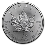 2017 Silver Maple Coins