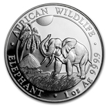 2017 Silver Elephant Coins