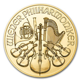 2017 Gold Philharmonic Coins