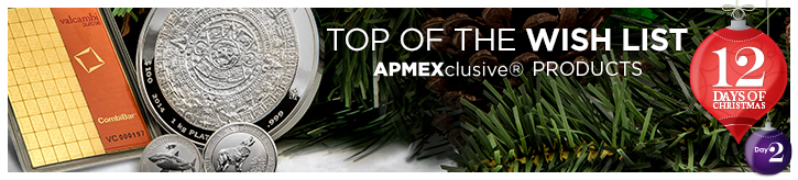 APMEXclusive Products (12 Days)