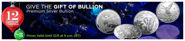 Premium Silver Bullion (12 Days)