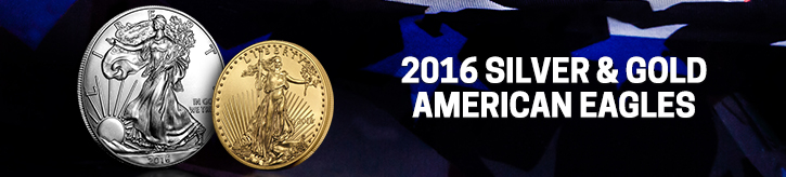 2016 Silver & Gold American Eagles