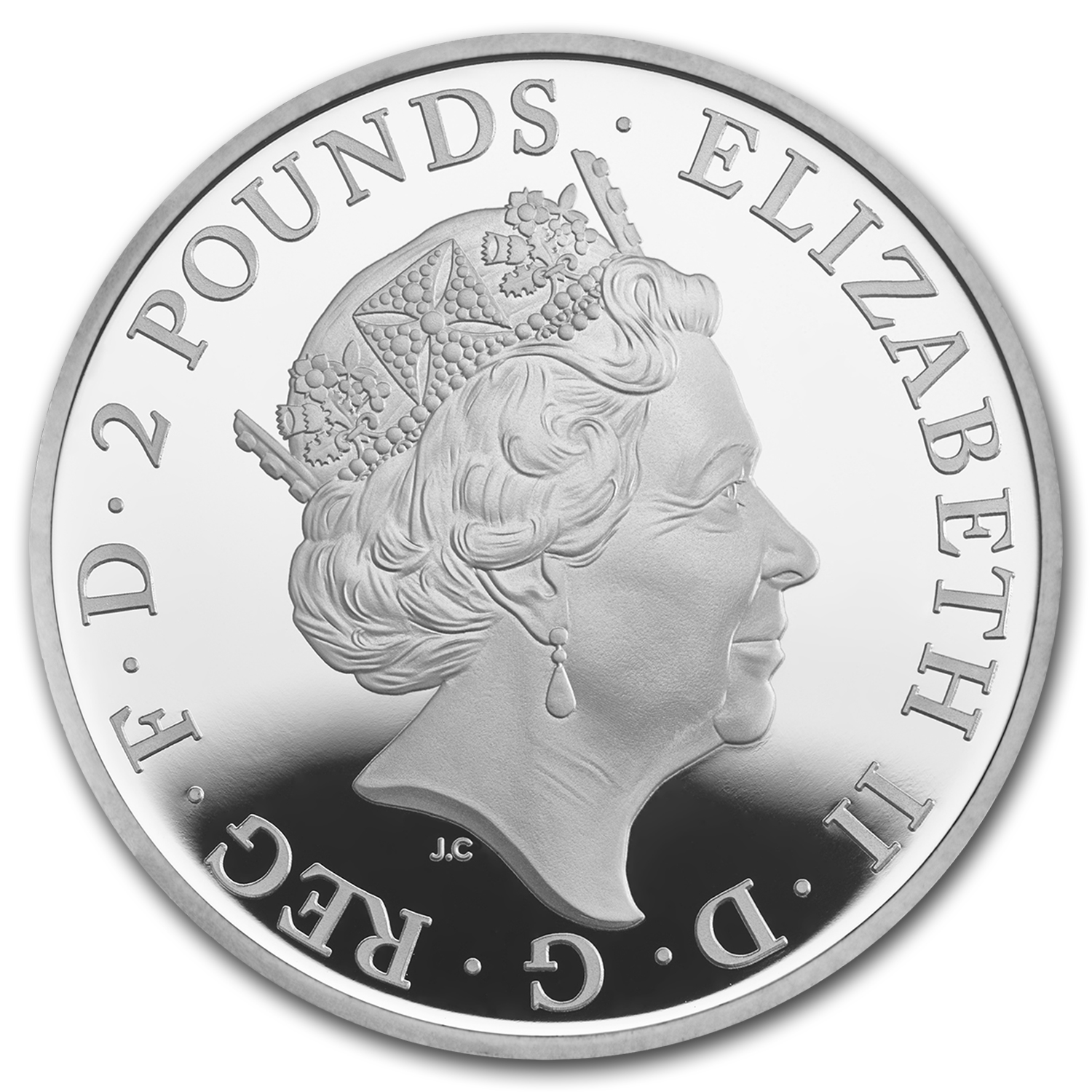 2016 Great Britain 1 oz Proof Silver Britannia