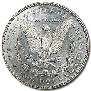 1878 Morgan Dollar - 7 Tailfeathers Rev of 78 BU