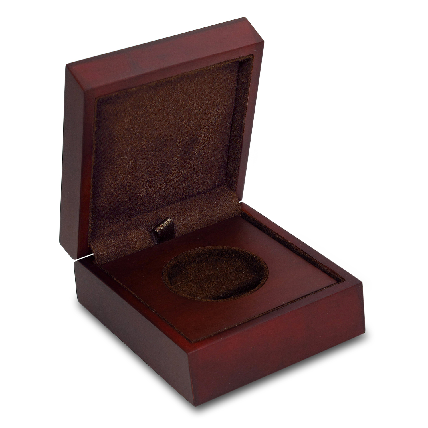 APMEX Wood Gift Box - 2 oz Perth Mint Gold Coin