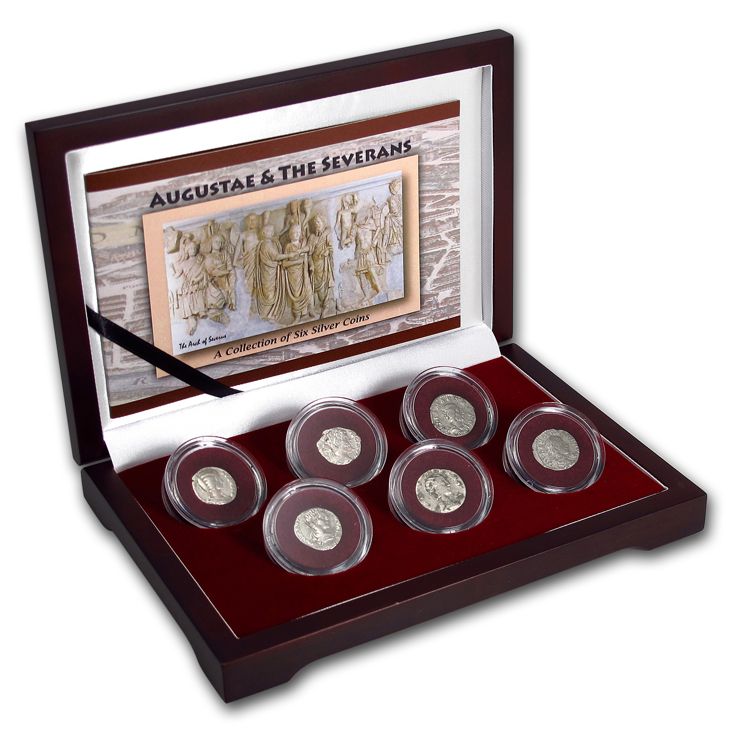 Roman Empire Augustae The Most Powerful Women of Rome (6 coins)