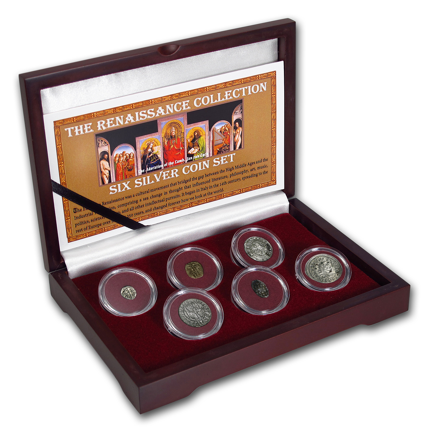 The Renaissance Collection 6-Coin Silver Set