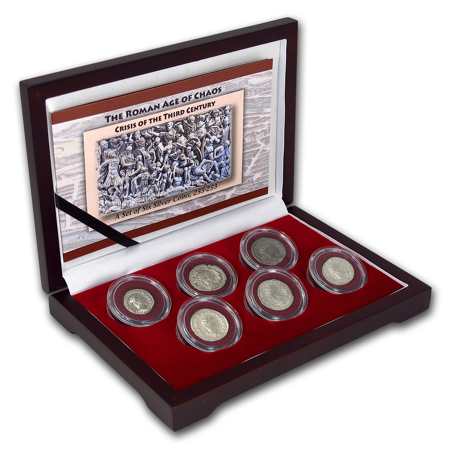 Roman Silver 6-Coin Collection the Age of Chaos