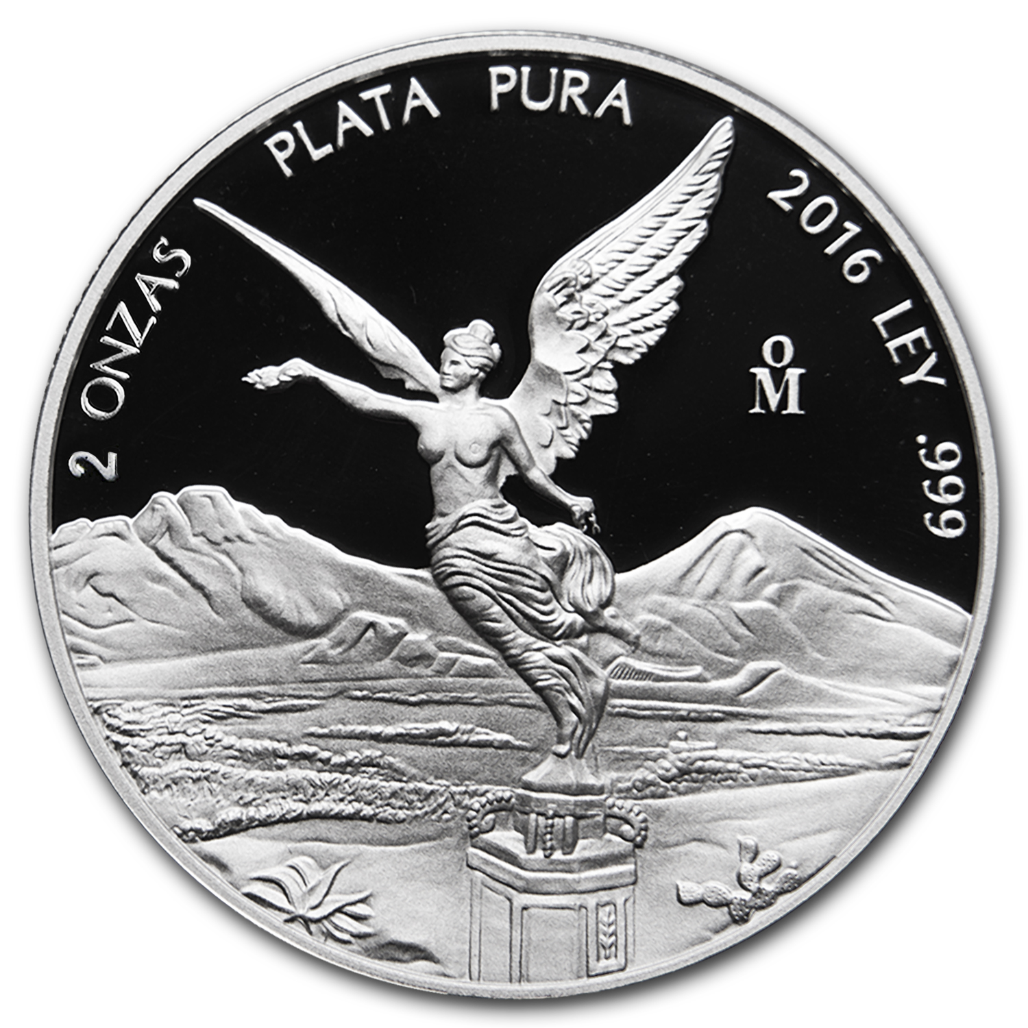 2016 Mexico 2 oz Silver Libertad Proof (In Capsule)