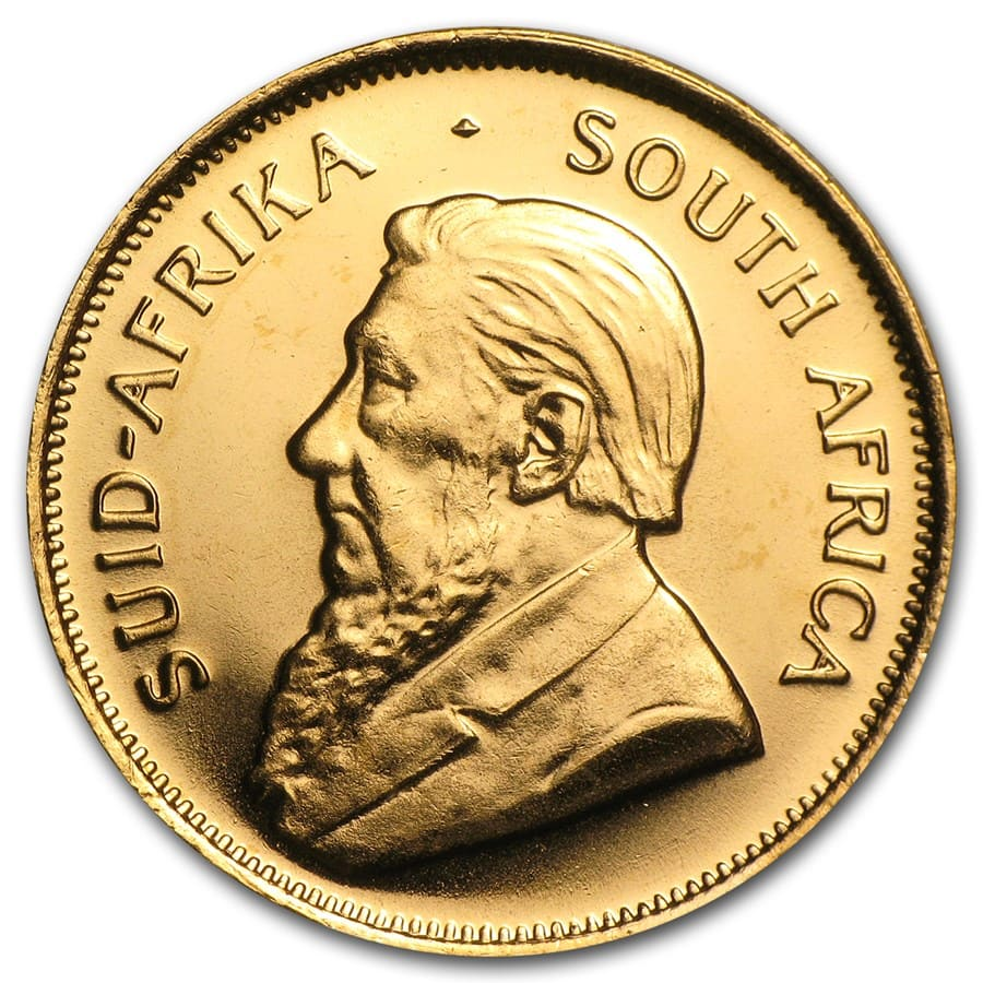 South Africa 1/2 oz Gold Krugerrand (Random Year)