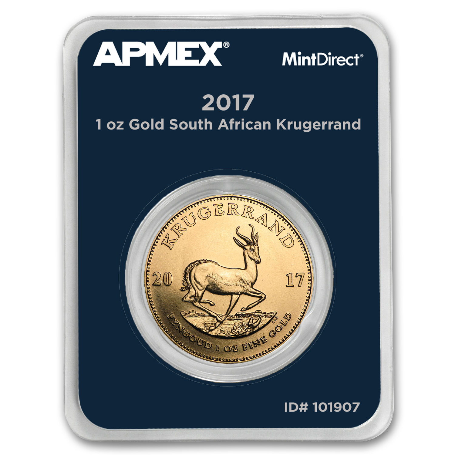 2017 South Africa 1 oz Gold Krugerrand (MintDirect® Single)