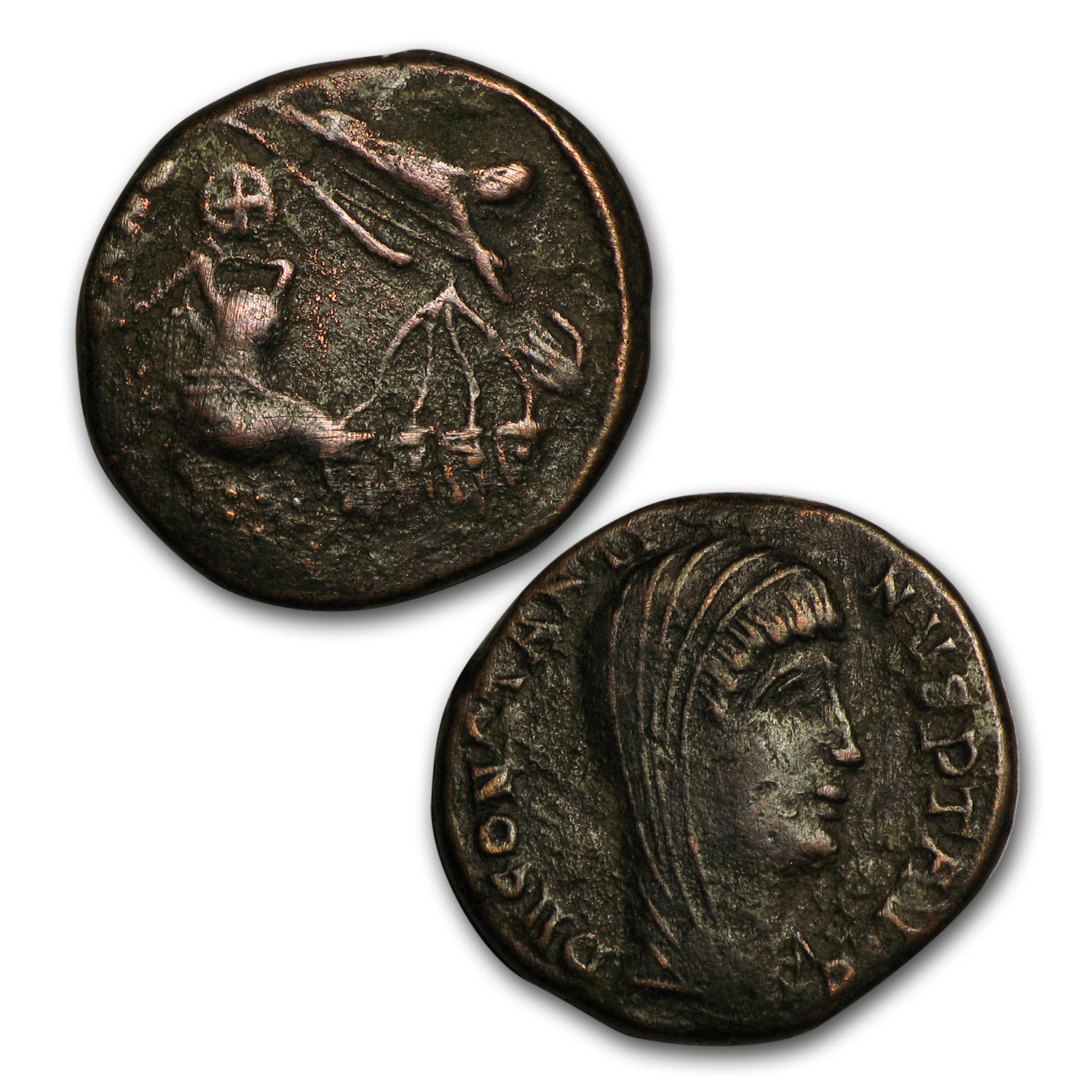 6-Coin Collection Monumental Figures in Christianity