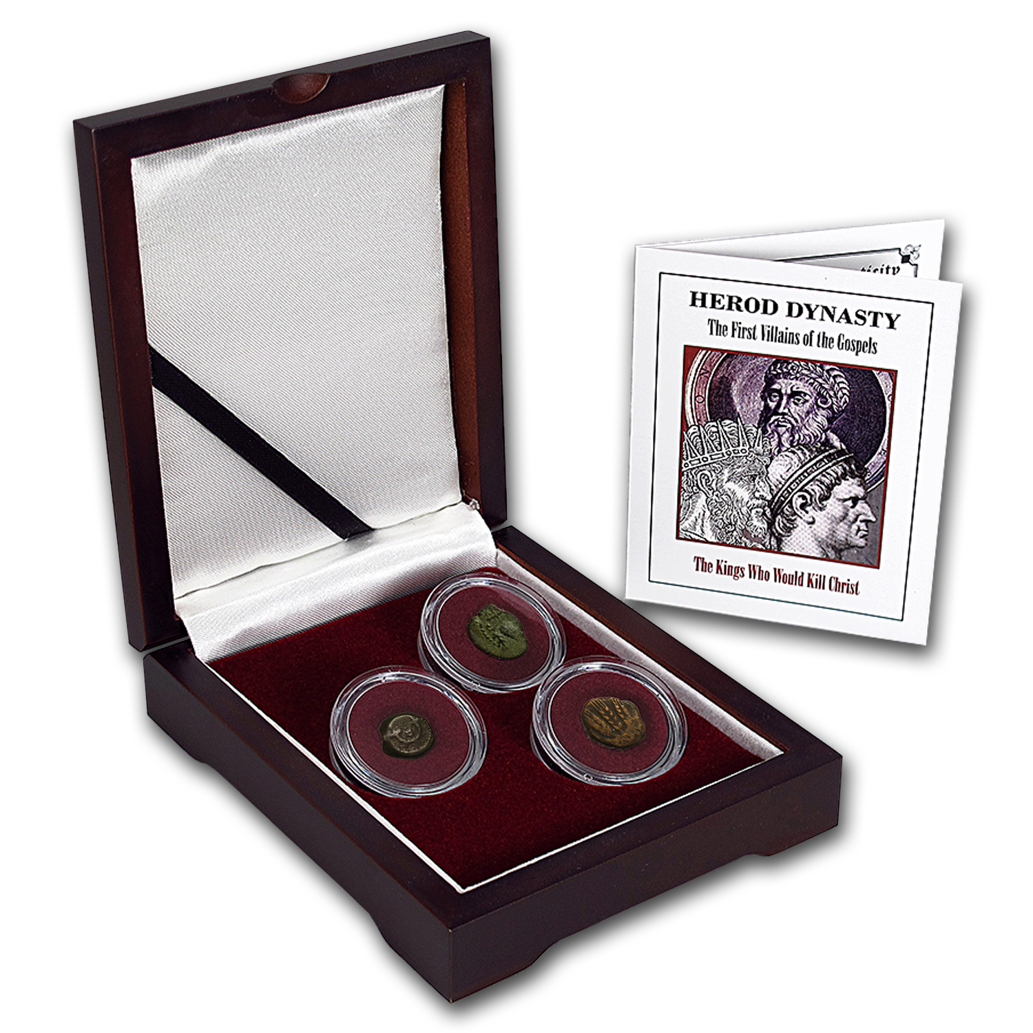Judea Bronze 3-Coin Collection The First Villains of the Gospels