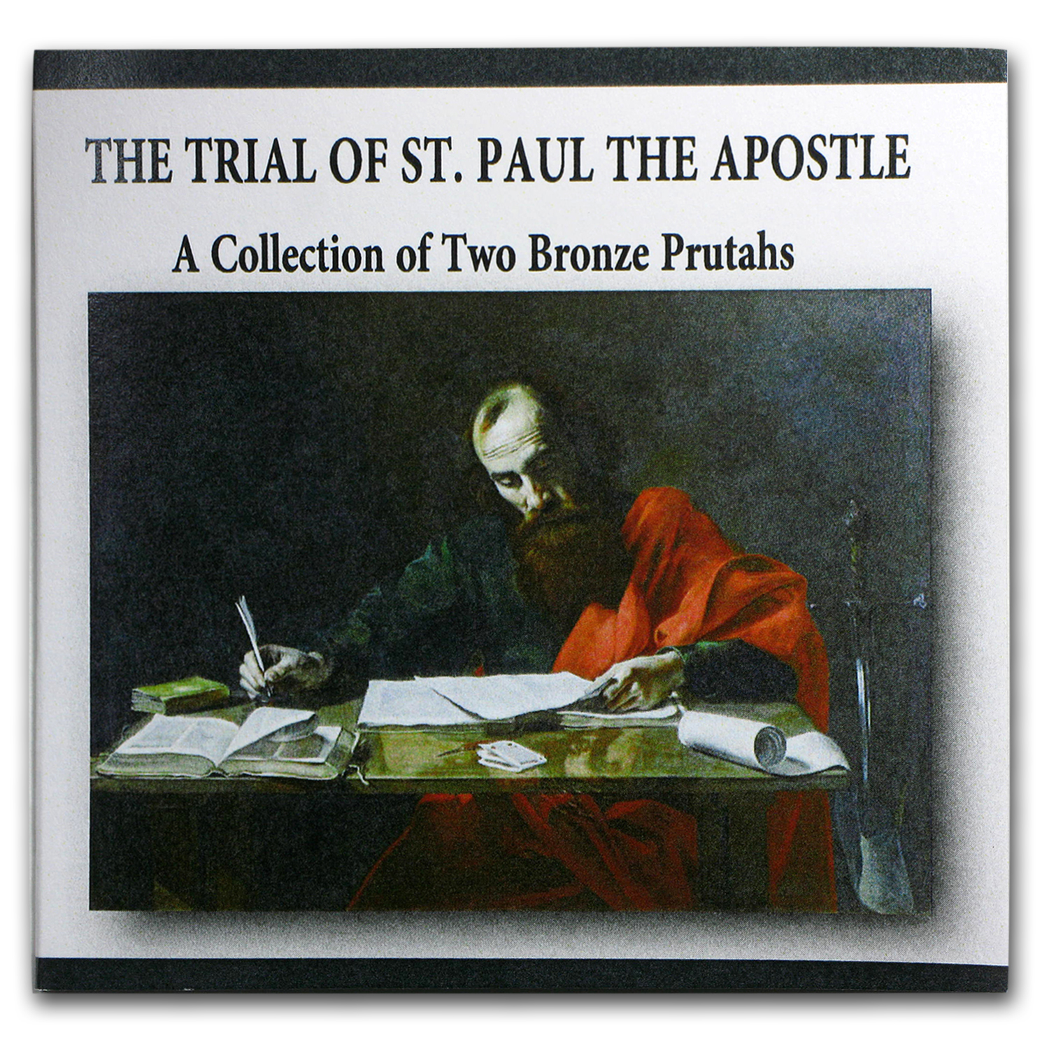 Judea Bronze 2-Coin Collection The Trial of St. Paul the Apostle