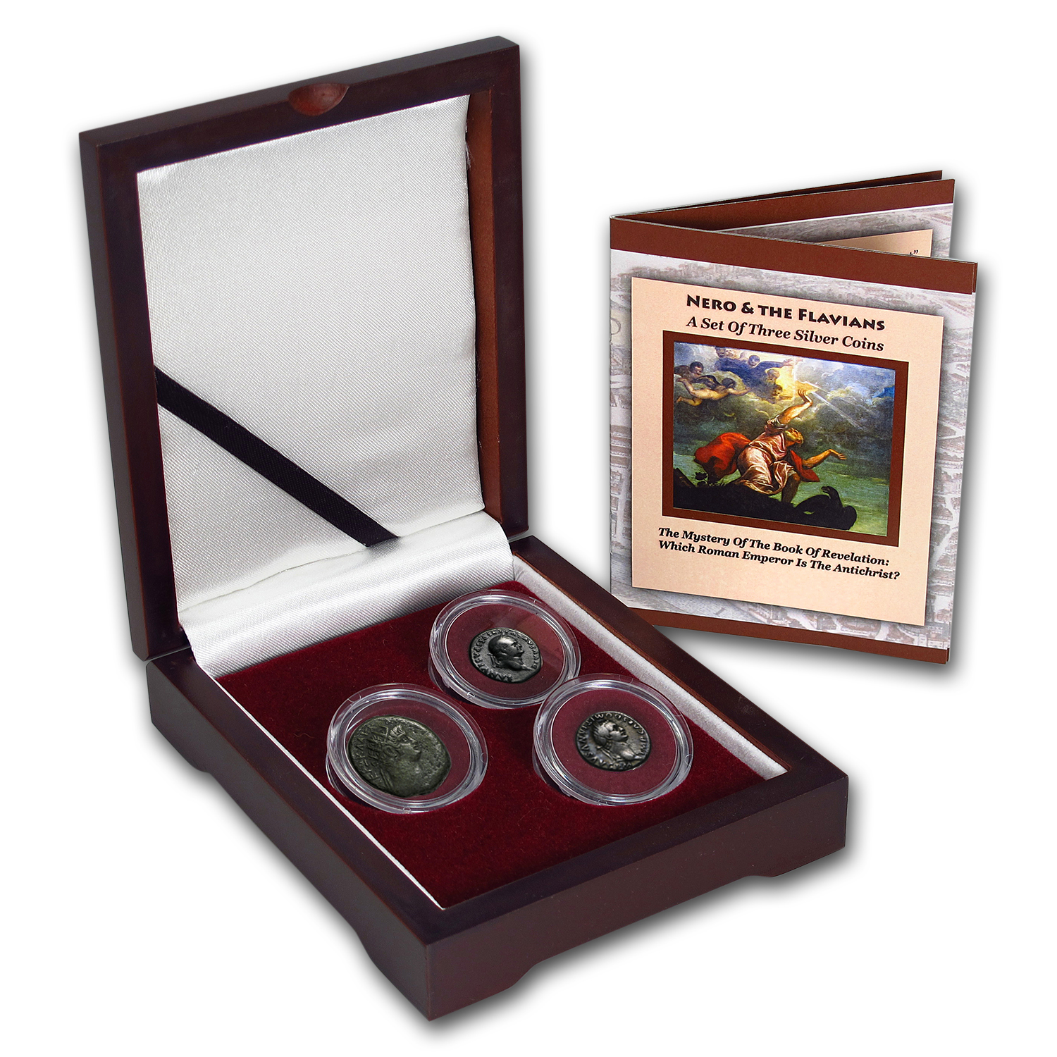 Roman Silver 3-Coin Collection Mystery of the Book of Revelation
