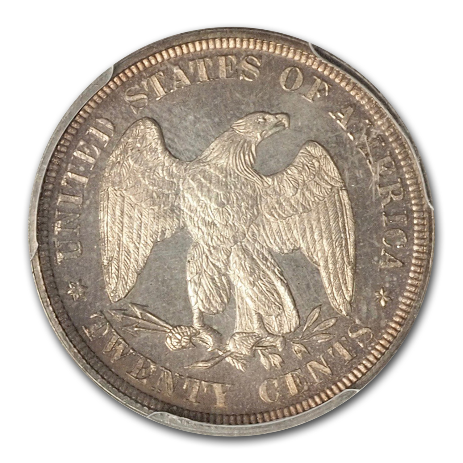1875 Twenty Cent Piece Proof-65 PCGS