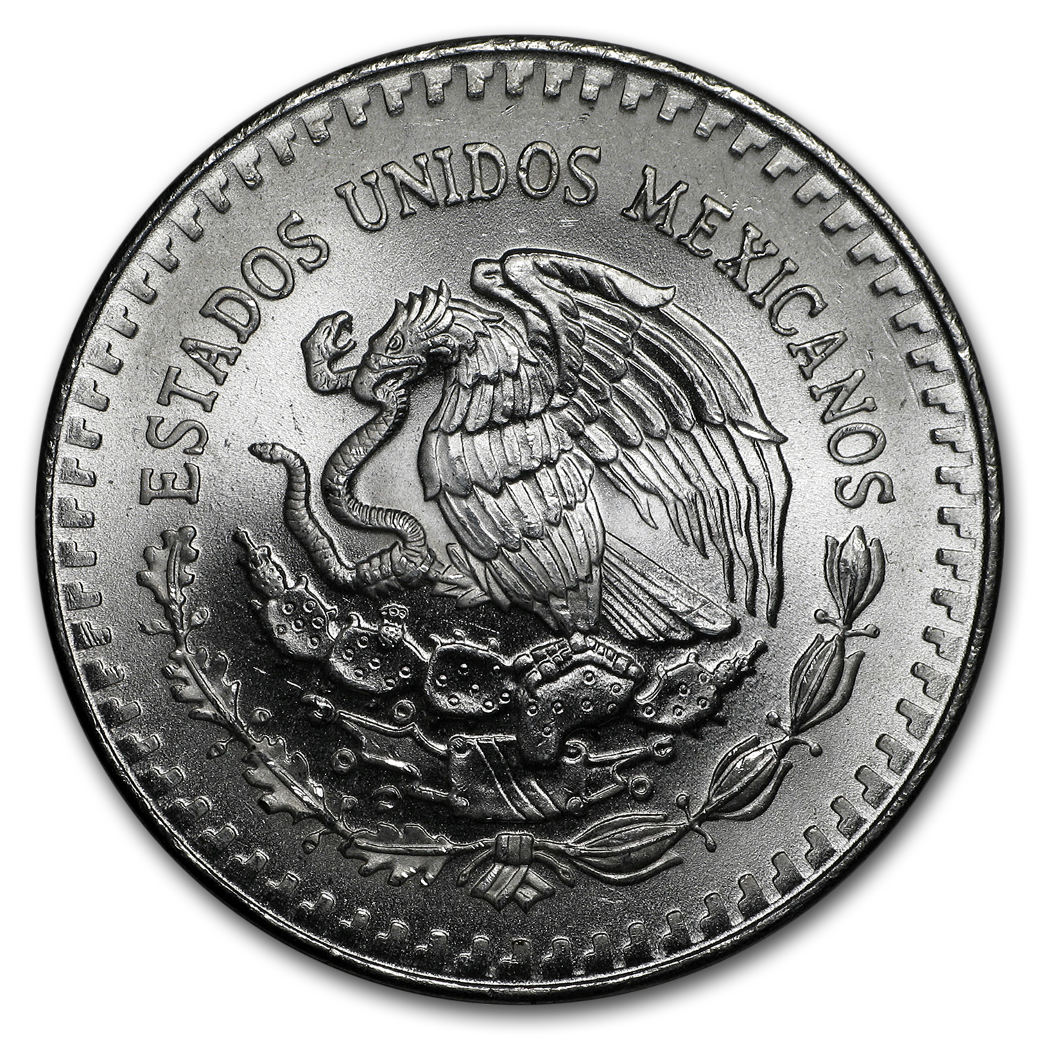 1987 1 oz Silver Mexican Libertad (Brilliant Uncirculated)