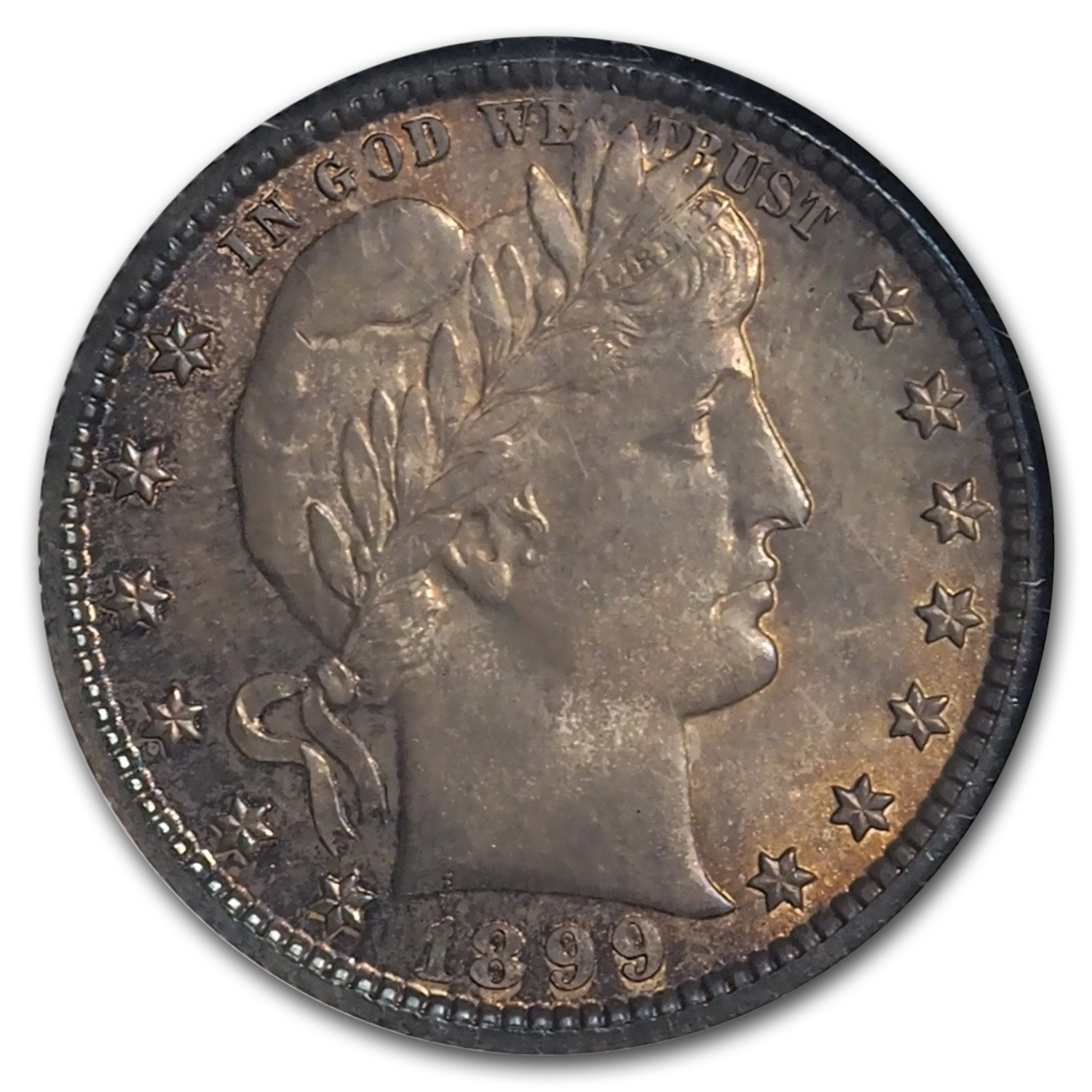 1899-O Barber Quarter MS-65 NGC