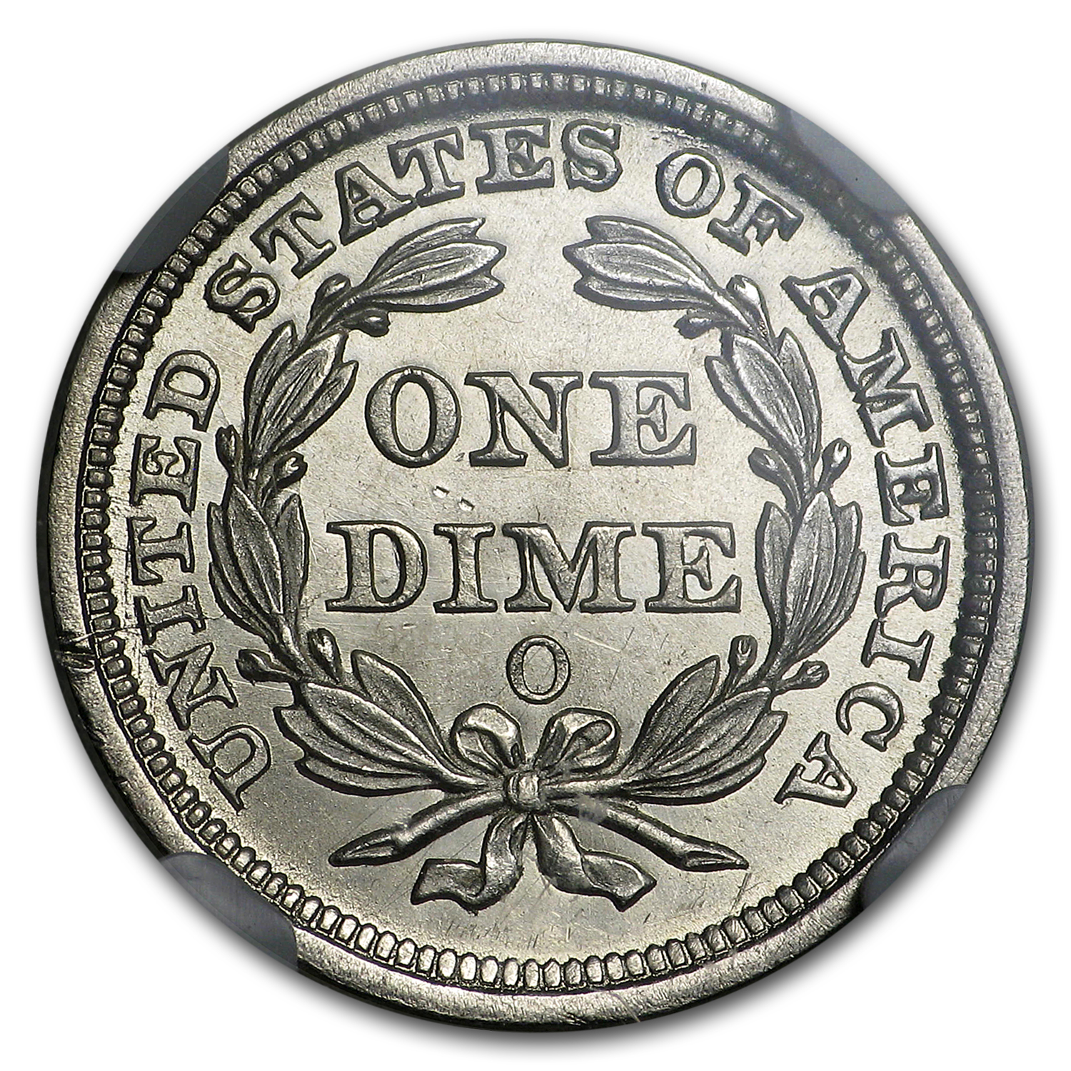 1859-O Liberty Seated Dime MS-65 NGC