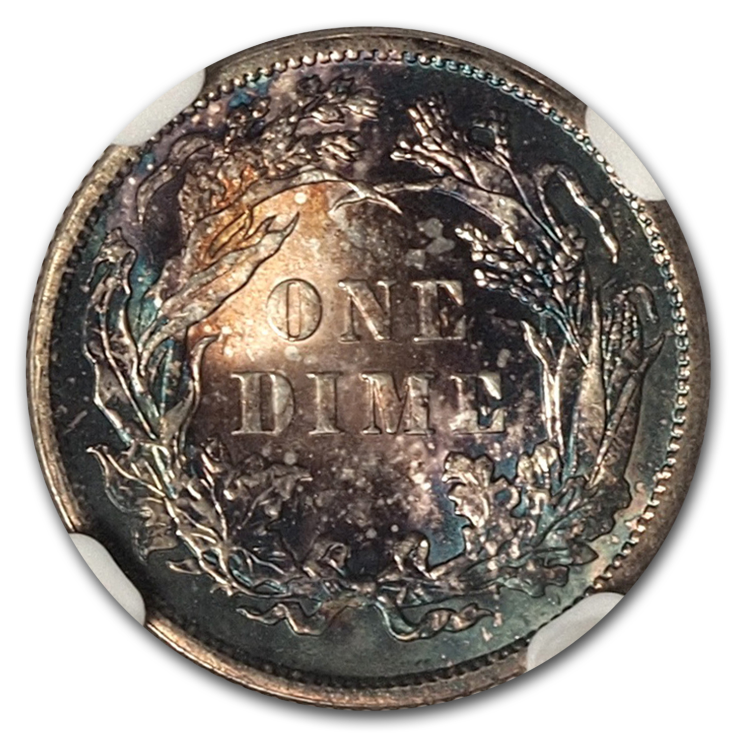 1889 Liberty Seated Dime MS-67 NGC
