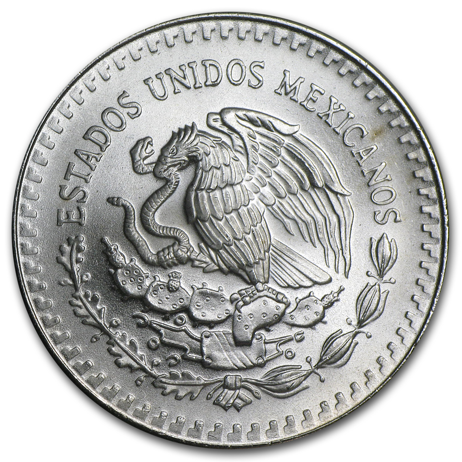 1990 1 oz Silver Mexican Libertad (Brilliant Uncirculated)