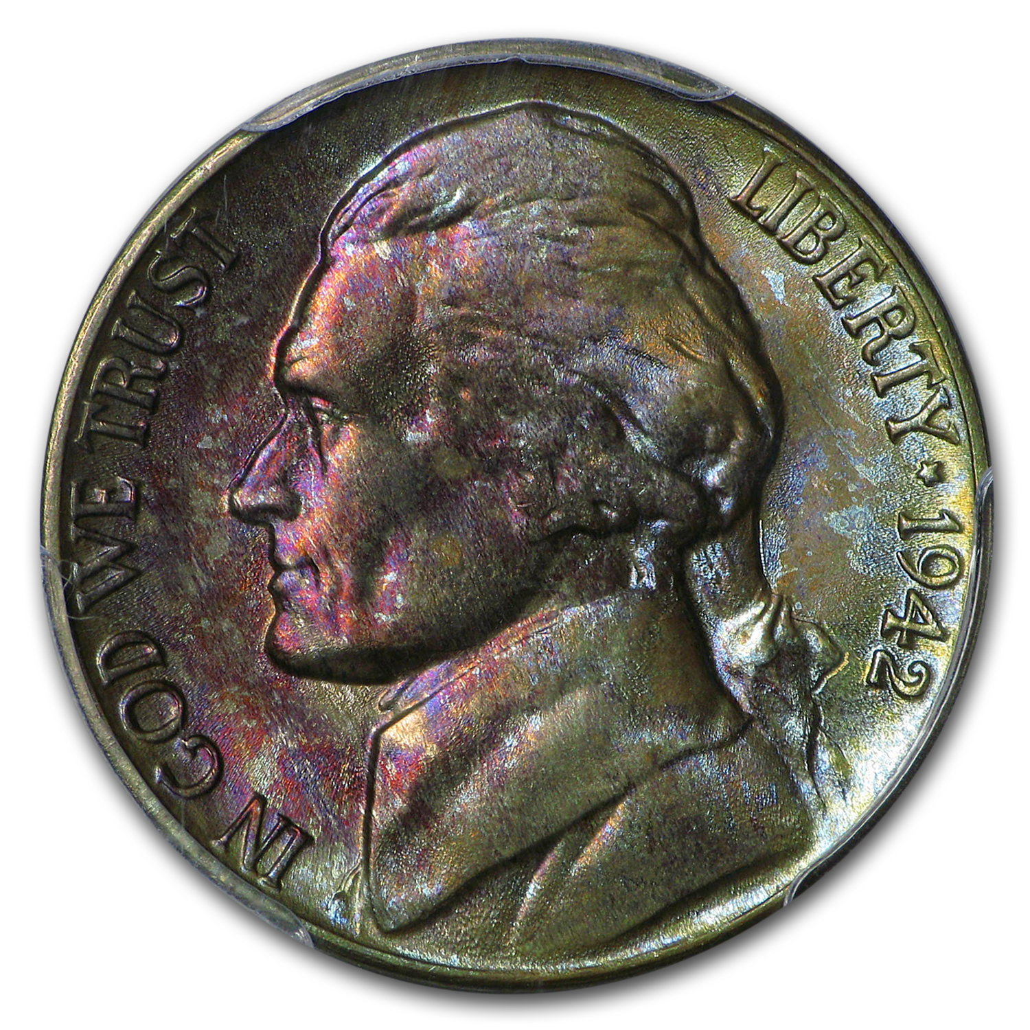 1942-D Jefferson Nickel MS-66 PCGS
